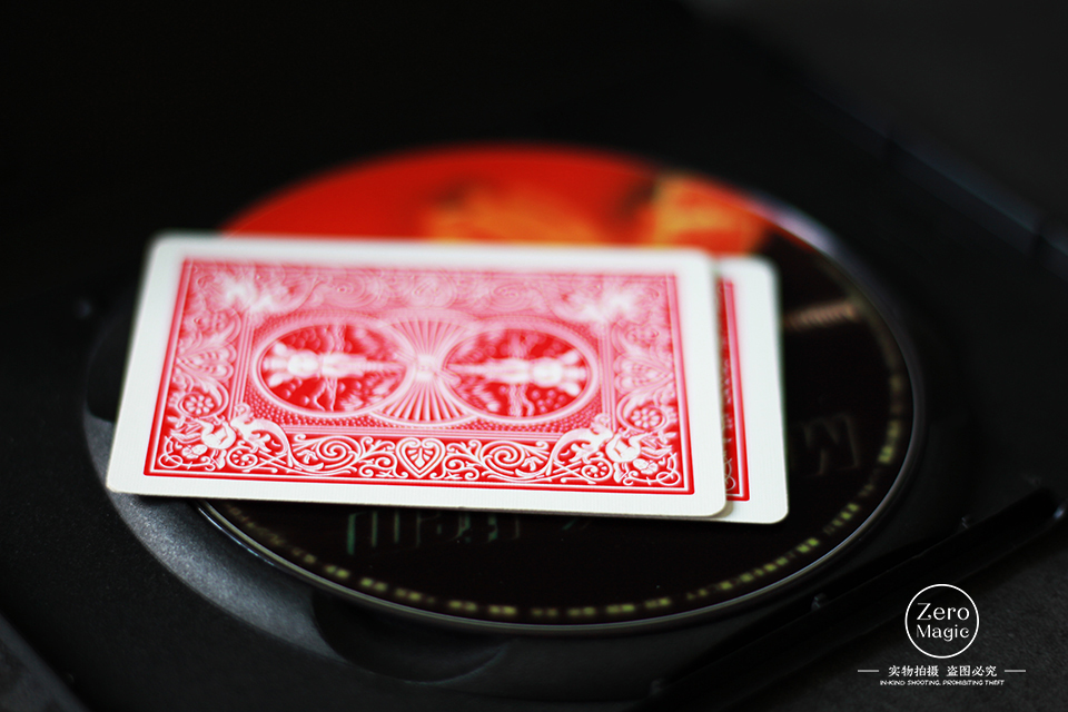 Ambelitious Card (DVD And Gimmick) - Close Up Magic Tricks Props Mentalism Card Magic Illusions