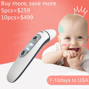 Baby Forehead Digital Ear-Non-Contact Infrared Body-Fever-Measurement Adult And IR LCD