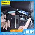 Автомобильный поворотный держатель Baseus для телефона 4,7-12,9 дюймов с креплением на подголовник сиденья
