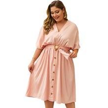 Новое летнее платье большого размера 2020 женские вечерние платья