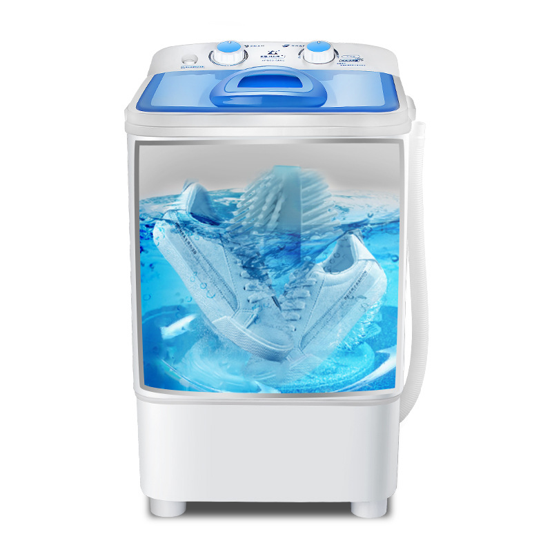 Changhong 2 In 1 Shoes Washing Machine Lazy People Brush Shoes  Washing Machine Mini Laundry Machine Clothes And Shoes Washer