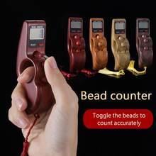 Portátil de mão contas digitais contador dedo jogo brinquedo automático desligar função memória dedo descompressão relaxamento brinquedos novo