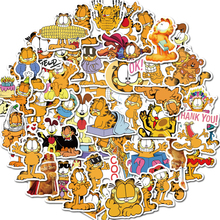 50 pcs garfield sticker Cartoon stickers Anime stickers for DIY Luggage Laptop Skateboard  Motorcycle Bicycle stickers
