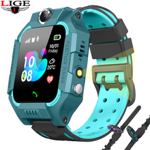 LIGE 2019 new smart watch child LBS smartwatch baby watches for kids localization Finder Tracker Anti lost monitor kid gift