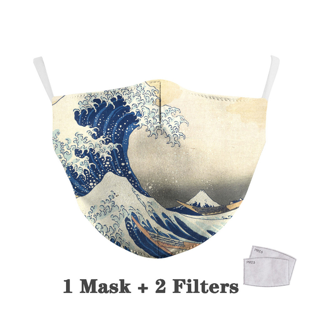 Reusable Protective PM2.5 Filter mouth Mask anti dust Face mask bacteria proof Flu Mask dropshipping 4