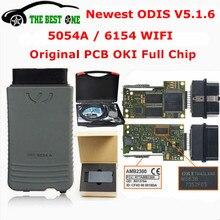 Диагностический сканер OKI 5054A ODIS V5.1.6, диагностика авто с Bluetooth AMB2300 6154 WIFI 5054, поддержка всех чипов, UDS 6154A 5.1.6 для авто VAG