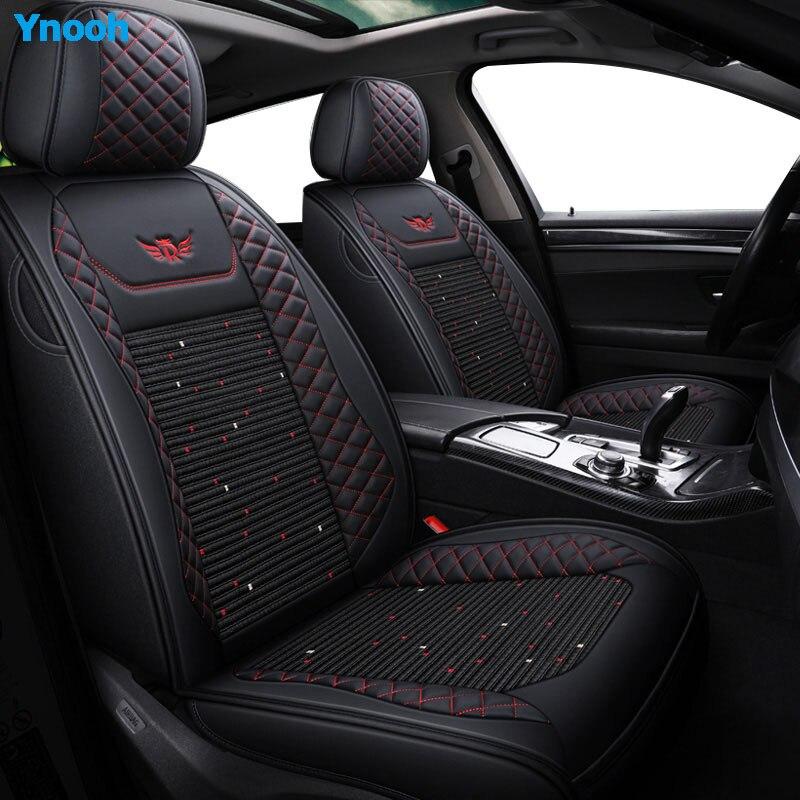 Housses de siège de voiture Ynooh pour skoda fabia 1 2 rapid spaceback kodiaq felicia octavia protecteur de siège de voiture