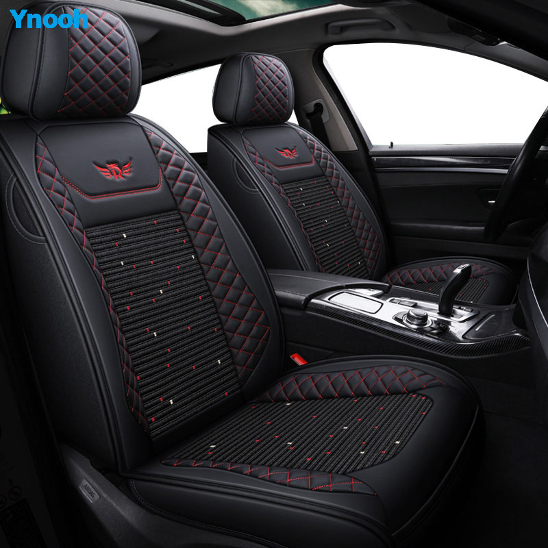 Image 2 - Ynooh Car seat covers For mitsubishi pajero sport lancer asx 2011 outlander l200 colt car protector-in Automobiles Seat Covers from Automobiles & Motorcycles