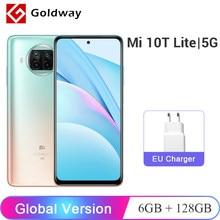 Xiaomi – téléphone portable Mi 10T Lite 5G, Version globale, 6 go 128 go, caméra Quad 64mp, NFC, Snapdragon 750G, 120Hz, écran DotDisplay, 6.67 pouces
