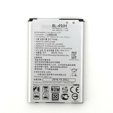 2pcs NEW Original 1940mAh BL-49JH Battery For LG for K4/K4 LTE/K130E/K120E/K120 High Quality +Tracking Number