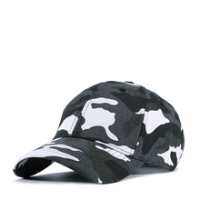 High Quality Fashion Camouflage Baseball Cap Men Cotton