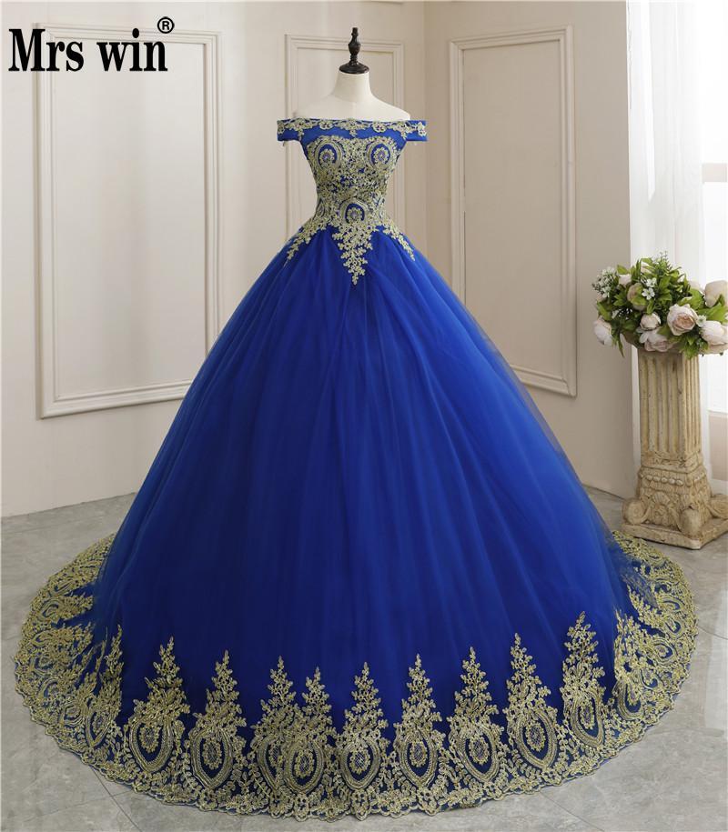 Sukienka na Quinceanera 2020 nowa luksusowa łódź szyi Party suknia balowa koronka w stylu Vintage Vestidos szata De Bal Vestidos De 15 Custom Made