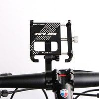 Il più recente supporto per telefono per bicicletta in alluminio GUB PLUS 11 per manubrio da moto girevole multi-angolo da 3.5-7 pollici