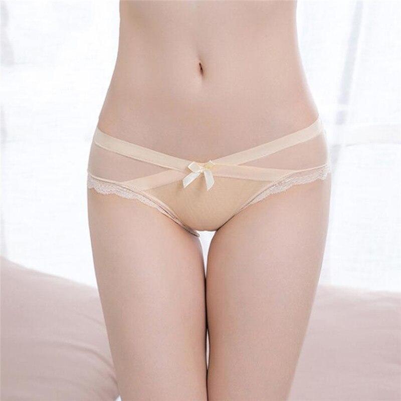 Женские трусики, Дамское кружевное лоскутное нижнее белье, Необычные прозрачные сексуальные трусики-стринги с низкой посадкой для женщин