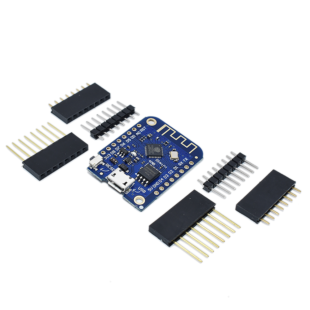 Wemos D1 Mini V3.0.0 WIFI Internet of Things Development Board Based ESP8266 CH340 CH340G 4MB For Arduino Nodemcu V2 MicroPython