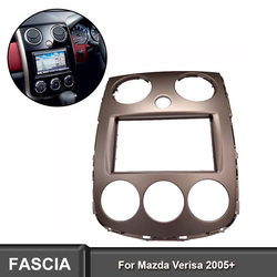 2DIN Car Radio Fascia For MAZDA Verisa 2005+ DVD Face Stereo Panel Audio Dash Kit Adapter Bezel Facia Adaptor