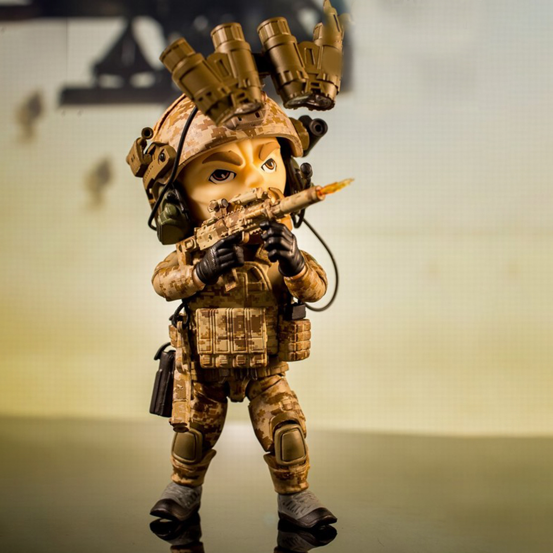 "FigureBase TM003 5/"" Trickyman Seal Team 6 MINI Action Figure Model Toy"