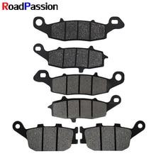 Road Passion For KAWASAKI Brake Pads Disks Front Rear ZR X 400 E3 ER 6F Ninja650 ER 6N ER650 Z750 ZR750J Z750S ZR750K KLE650