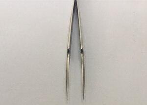 Image 3 - Bergeon 7024 5 סופר בסדר נקודות עבור hairsprings puntas largas. נוסף finsa para espirales פינצטה עבור שעון כלי