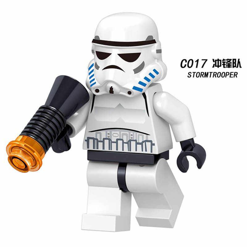 Star Wars Figuren legoing starwars Leia Han Solo Yoda Luke Sith Lord Darth vader Maul Revan Dooku Bouwstenen bricks speelgoed
