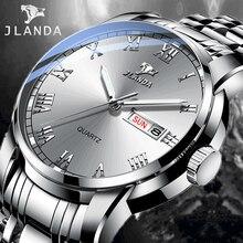 Relogio Masculino Men's Watch Luxury Brand JLANDA Wrist