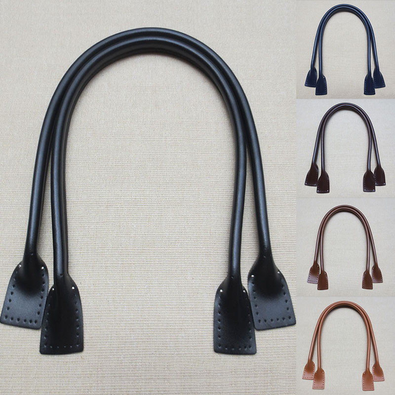 2 PCS Women Bag Strap Fashion PU Leather Obag Handles Replacement Purse Strap New DIY Bag Accessories Crossbody Shoulder Handle