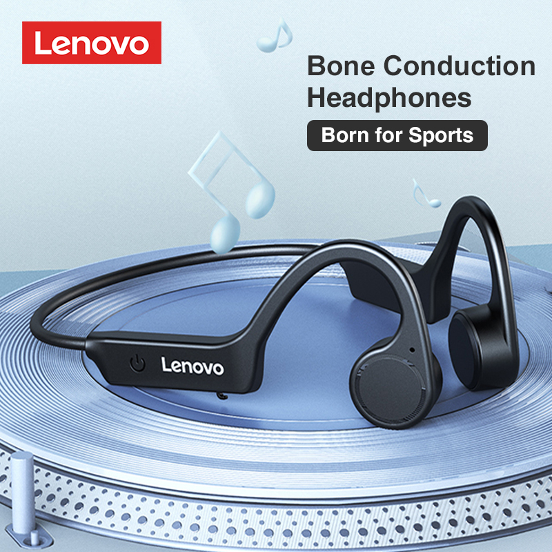 Lenovo X4 Bone Conduction Headphones Sport Running Waterproof Wireless Bluetooth Earphone True Bone Conduction 2021 New