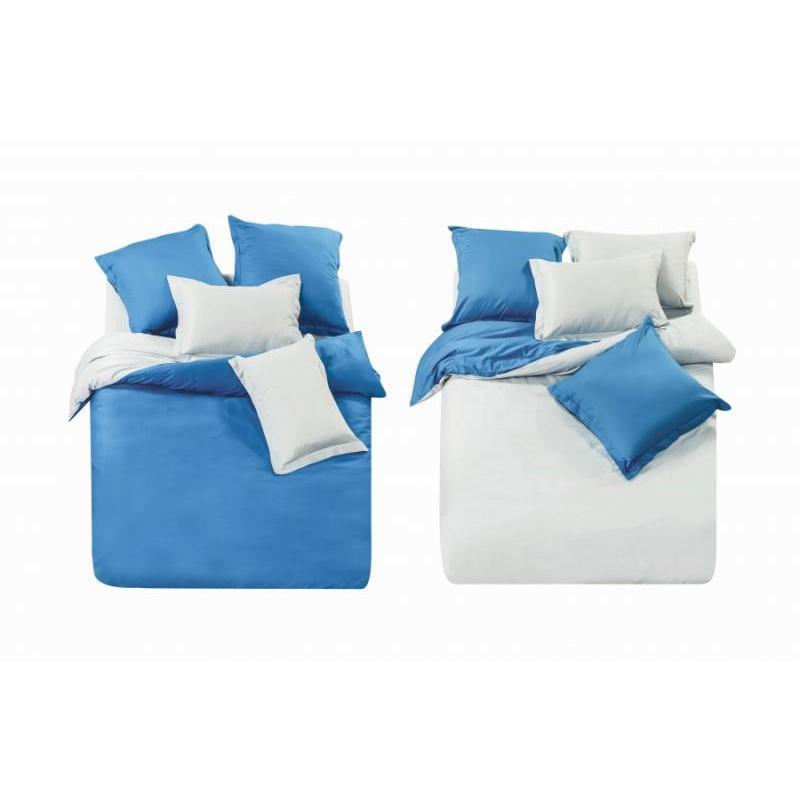 Bedding Set полутораспальный СайлиД, L, Blue/white