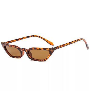 New Classic Cat's Eye Sunglasses Fashion UV400 Sunglasses Small Frame Personality Sharp Angle Sunglasses Outdoor Riding Glasses