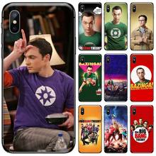 the big bang theory Cover Black Soft Shell Phone Case For iphone 5 5S SE 5C 6 6S 7 8 plus X XS XR 11 PRO MAX black cover darling in the franxx for iphone x xr xs max for iphone 8 7 6 6s plus 5s 5 se super bright glossy phone case