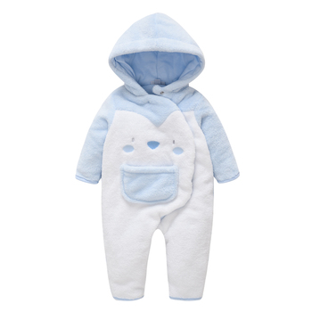 Winter Warm Baby Boys Rompers Thicken Infant Girls Jumpsuits Newborn Baby Wear Cute Hooded Cartoon Toddler Onesie Bebe Roupas Da newborn winter baby rompers girls windproof rompers children warm outdoor rompers kids jumpsuits
