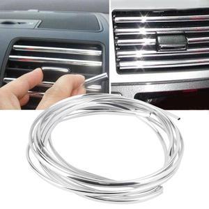 6 метров универсальная u-образная хромированная линия для самостоятельной литья под давлением для седана, автомобильная вентиляционная две...