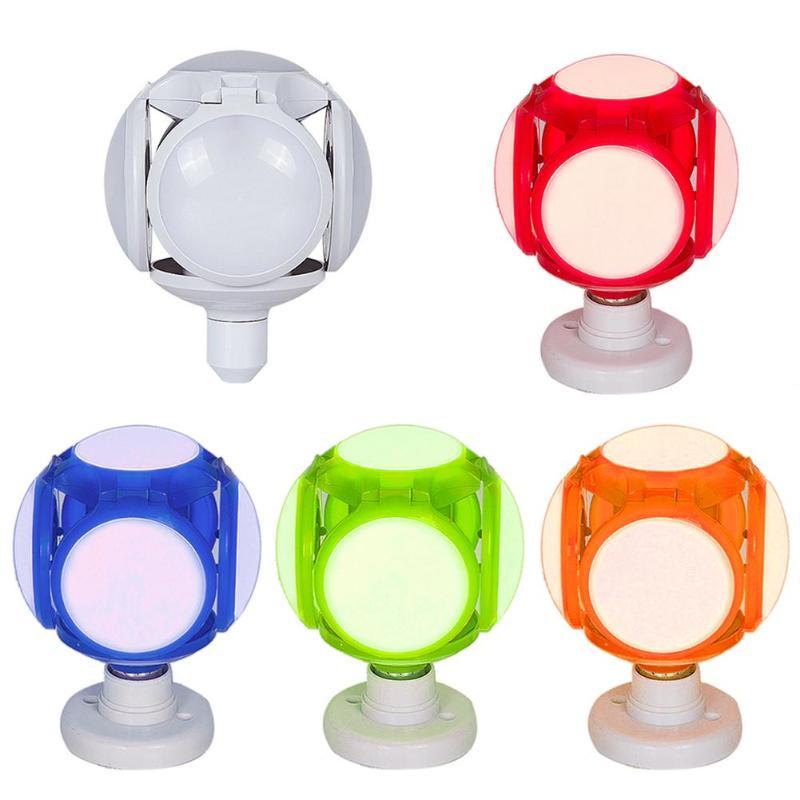 120LED E27 40W Deformable Football Light 110-265V UFO Bulb Ceiling Bar Lamp