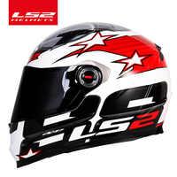 LS2 Clown intégral moto rcycle casque ls2 FF358 moto cross racing homme femme casco moto casque LS2 samouraï ECE approuvé