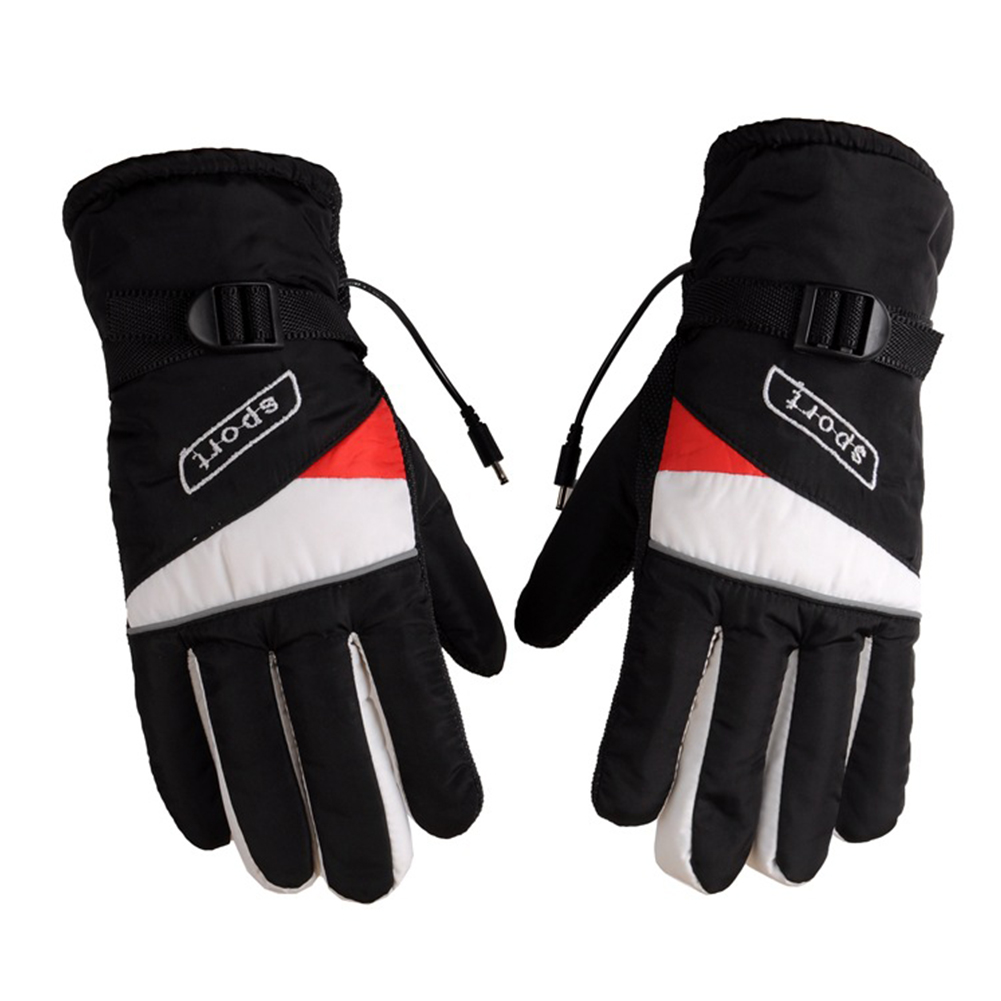 Motorcycle Heating Gloves Charging Gloves Motorcycle 12v Electric Gloves