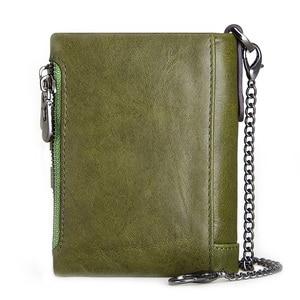 Image 2 - KAVIS 100% ของแท้ Cowhide หนังผู้หญิงกระเป๋าสตางค์หญิง PORTFOLIO Portemonnee กระเป๋าเหรียญขนาดเล็ก Walet กระเป๋าแฟชั่น