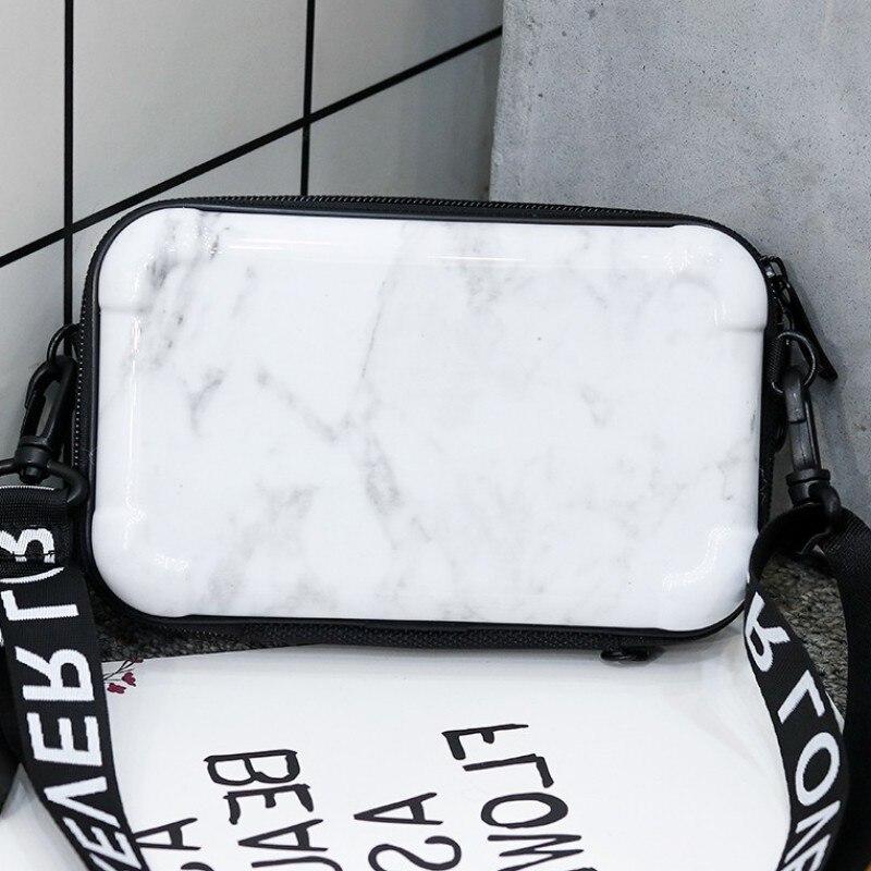 Lovevook Women Handbag Fashion Crossbody Bag For For Ladies 2019 Mini Luggage Make Up Bag For Travel Shoulder Bags Clutch Marble