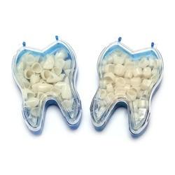 50Pcs/Box Realistic Dental Crowns Oral Teeth Whitening Anterior Molar Crown Dental Crowns Resin Porcelain Temporary Teeth crown