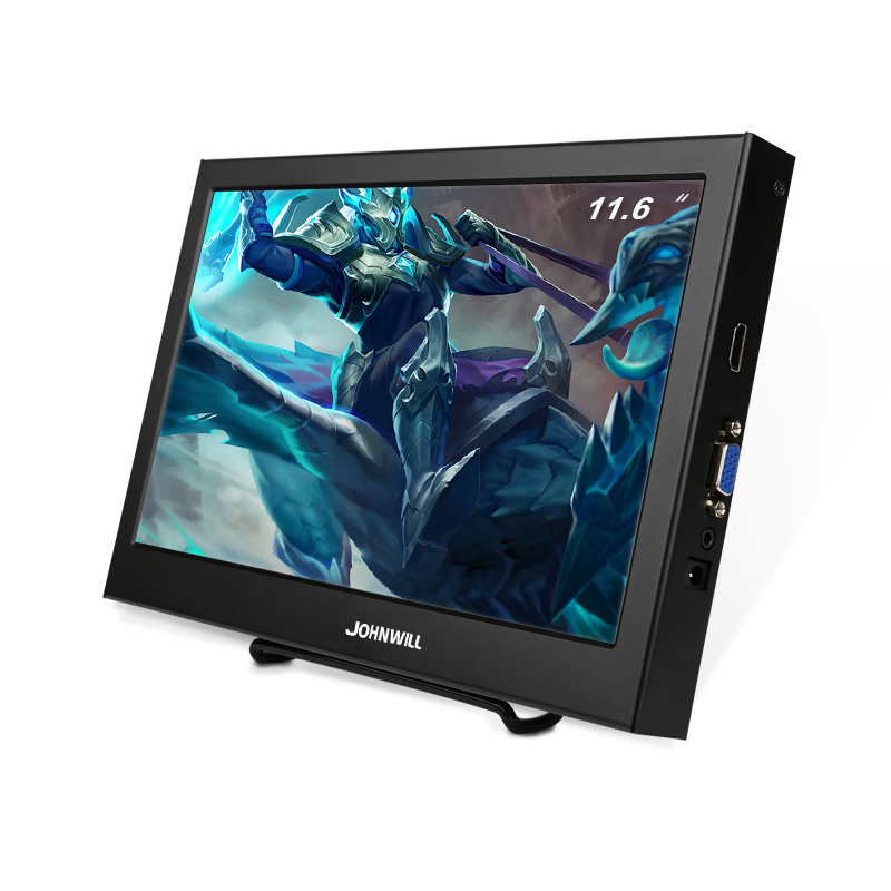 <font><b>11.6</b></font> inch HD 1080P Portable Monitor 1920x1080 IPS Widescreen LED LCD Display HDMI/VGA Game Console /Raspberry Pi PS3 PS4 Xbox360 image