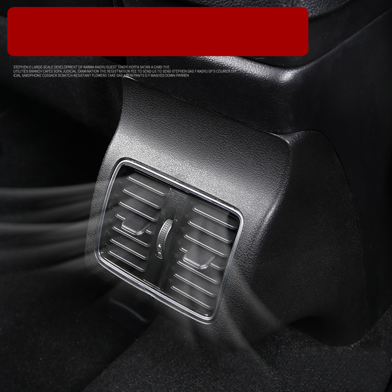 Lsrtw2017 Abs Car Central Control Rear Armrest Vent Panel for Mitsubishi Outlander 2012 2013 2014 2015 2016 2017 2018 in Interior Mouldings from Automobiles Motorcycles