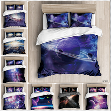 Cosmic starry sky room bedding set luxury  duvet Classic bed linen sky style home Bedding Set Duvet Cover Pillowcase 3 петерсон людмила георгиевна математика 1 4 классы рабочие программы предметная линия учебников системы перспектива