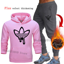 Autumn Winter new Sport Suit Quick Dry Sports Suits Loose Tracksuits hoodies+Sweatpants Mens Fitness Running suits Jogging sets