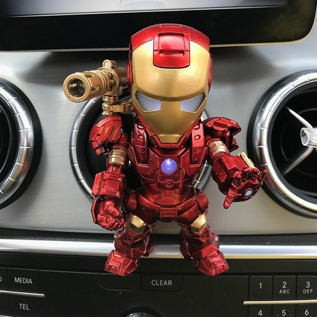 Acecorner Home Decoration Car Perfume Iron Man Outlet Perfume Original Auto Perfumes Air Freshener Decor Conditioning Vent Clip 6