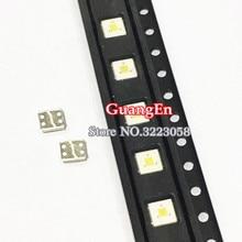 200 sztuk lumenów podświetlenie LED Flip Chip LED 2.4W 3V 3535 fajne białe 153 lm dla SAMSUNG LED LCD podświetlenie aplikacji TV