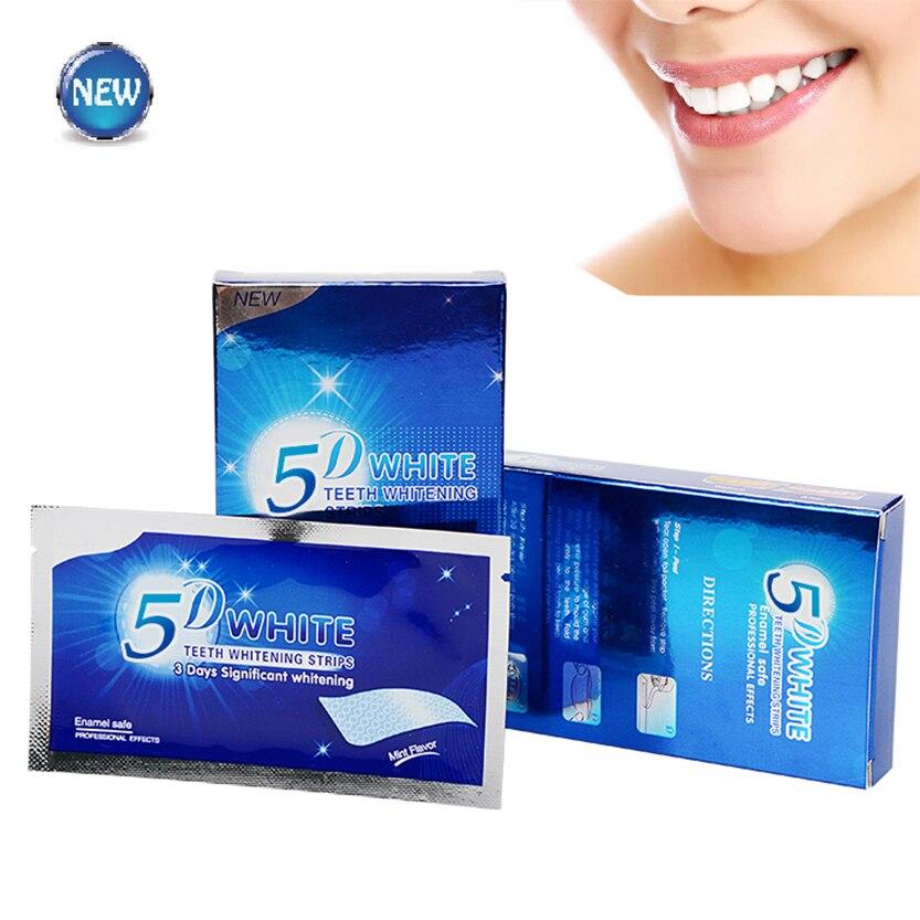 5d clareamento dos dentes gel tiras higiene oral cuidados com os dentes brancos elásticos dupla dentes branqueamento dental ferramentas Clareamento dos dentes    -