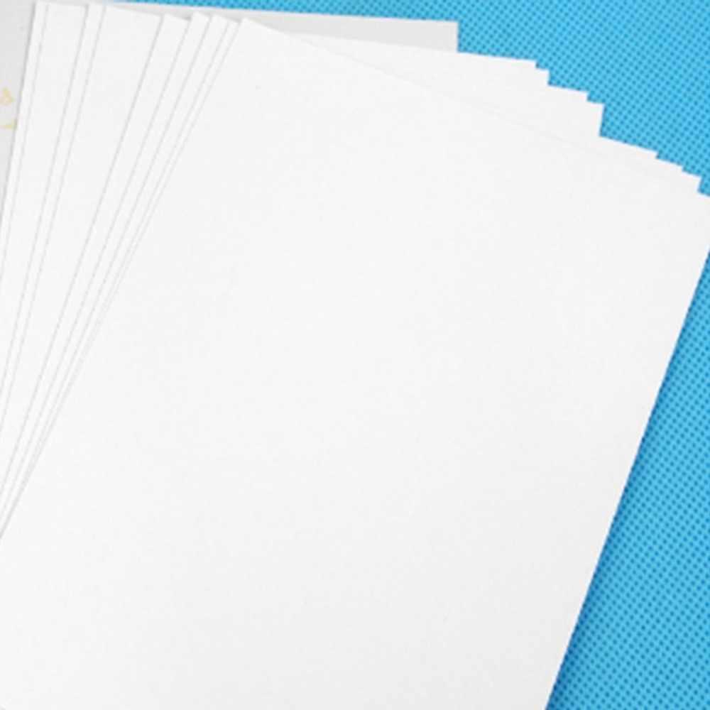 50 Lembar A4 (210*297 Mm) kualitas Premium Glossy Photo Paper untuk Printer Inkjet Kedap Air 5760 Dpi Printing Presisi