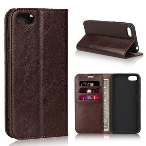 Чехол для Huawei Honor 7A, русская версия, чехол для телефона из 100% натуральной кожи, чехол-книжка для Honor 7A, русская версия