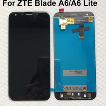 Ban Đầu Cho 5.2 Inch ZTE Blade A6/A6 Lite A0621 A0622 A0620 Màn Hình Hiển Thị LCD Và Màn Hình Cảm Ứng Màn Hình Bộ Số Hóa hội Thay Thế