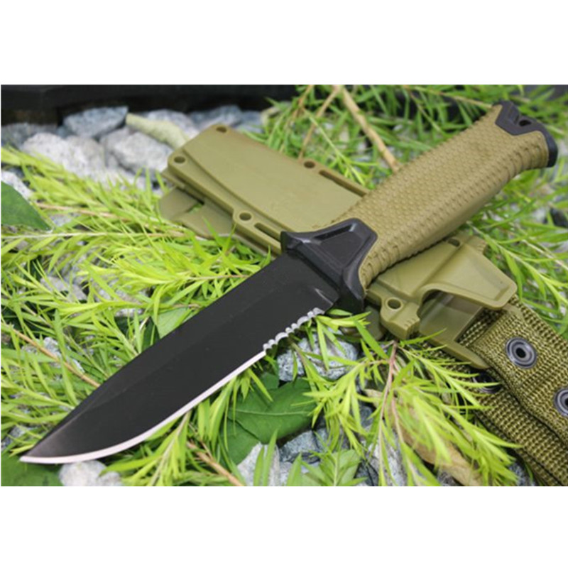 Camping Hunting Fixed Knife 12C27 Blade ABS Handle Tactical Survival Knives Utility EDC Tool Quality Outdoor Knifes