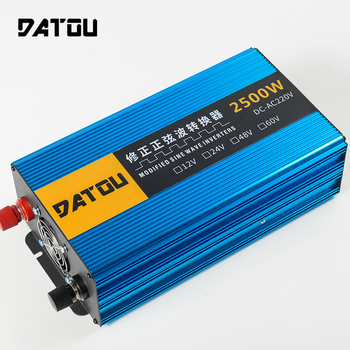 цена на 2500W Modified Sine Wave 12v to 220v Converter Car Power Inverter RV Inverter Adapter Voltage Converter Peak 5000W Accessor